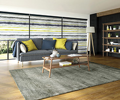 Roller Blinds in Como - Ocra, by Louvolite